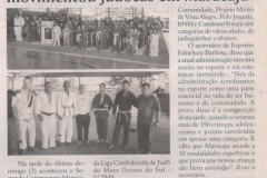 2 campeonato municipal judocas Maracaju